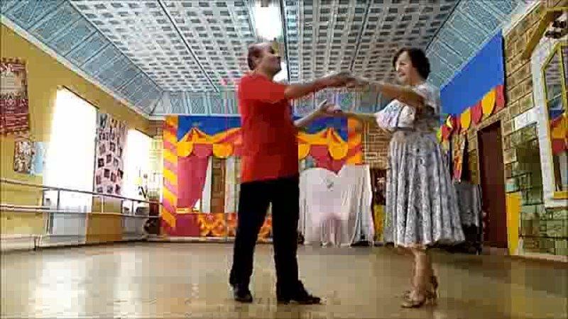 Аргентинское танго В Солдатова Р Гардиев последняя репетиция