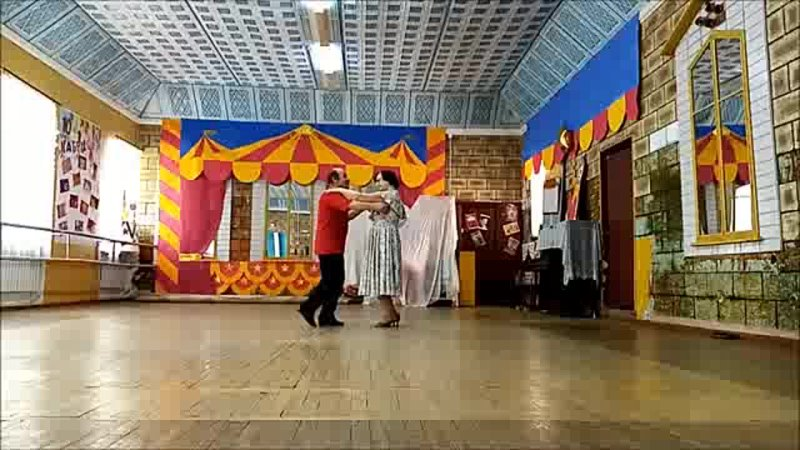 Последний танец с незрячим партнёром Аргентинское танго вальс