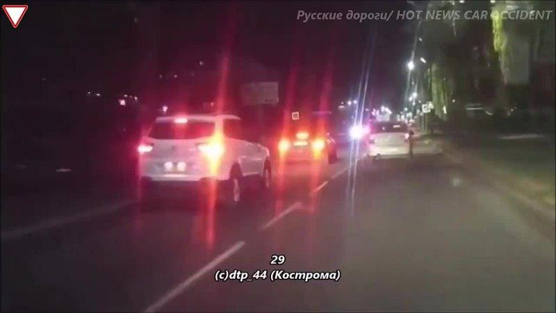 Мужчина преподал урок вежливости на дорогах мигранту нарушителю
