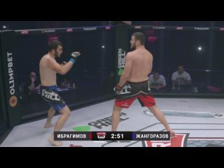 Джефф Монсон vs Олег Тактаров. Ушу-Мастер vs Классик. Боец UFC в клетке. 1/16 гран-при Hardcore MMA.