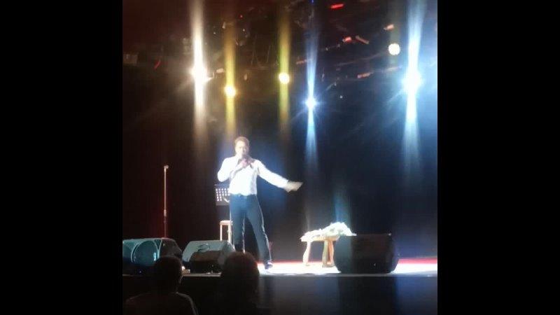 Сергей Любавин Фрагменты из Попурри на стихи Есенина Абакан 23 октября 2021 г