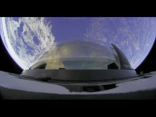 View From SpaceX Crew Dragons Cupola Inspiration 4X - Space