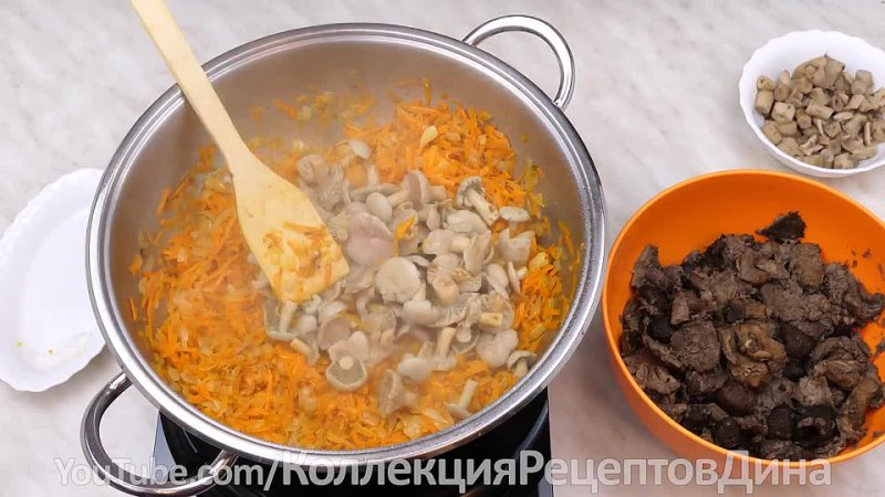 🍁🍄Грибная икра с луком морковью чесноком и помидорами🍁 Универсальная заготовка из грибов на зиму🍄