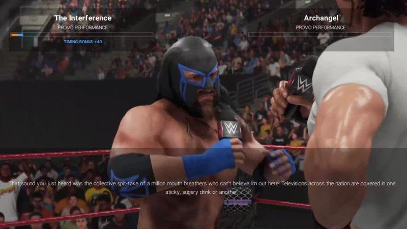 UWF Pain WEEK 40 SEASON PREMIERE WWE 2K19 CUSTOM UNIVERSE MODE CUSTOM THEMES ARENAS CHAR