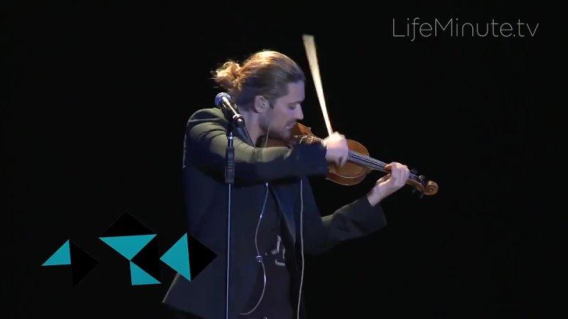 David Garrett Rockstar Violinist Premieres Latest Album Music in NYCs Best Buy Theater 2013
