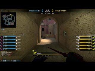 S1mple (28/17) vs Mousesports (de_mirage). pov демка пов ксго navi esl pro league