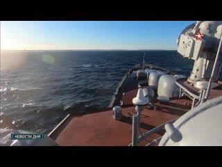 Два месяца на борту «Североморска»: съемочная группа «Звезды» поучаствовала в арктическом походе СФ