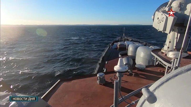 Два месяца на борту Североморска съемочная группа Звезды поучаствовала в арктическом походе СФ