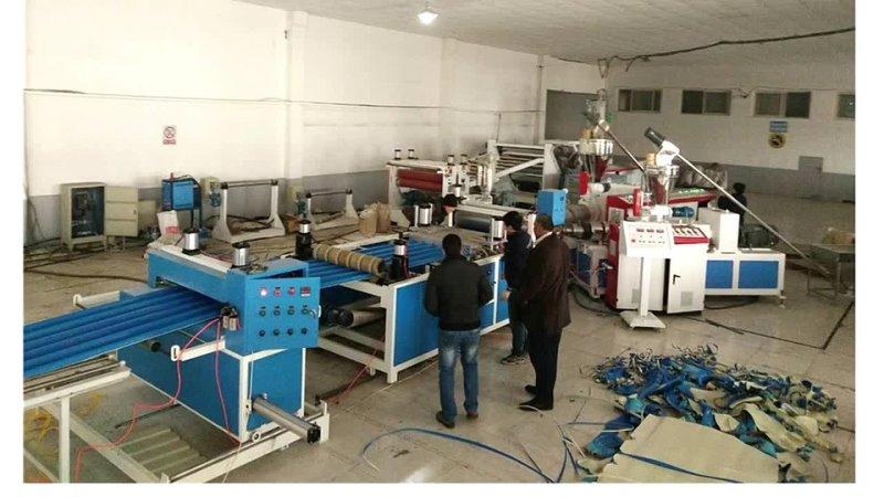 PVC Wavey Roof Corrugated Sheet Production Extrusion Line