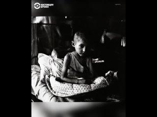 Голод и каннибализм в Поволжье (((марксистами-коммунистами))). Более 7 миллионов убитых русов. голодомор