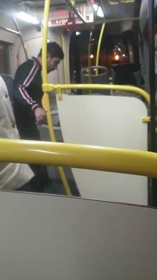 Добрый вечер, вот такой скандал произошел в автобусе 36, 14.10.21 21:05, сказал что ребёнку которому... Тюмень