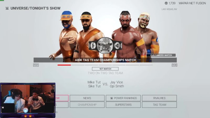 ABW The Blast WWE 2K19 CUSTOM UNIVERSE MODE PPV CUSTOM THEMES ARENAS CHARACTERS SHOWS