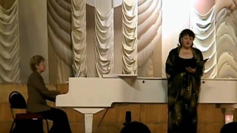 Камерная вокальная музыка Владимира Сидорова в исполнении Татьяны Тощилиной