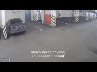 Администратор паркинга задержал автомобильного шпи...