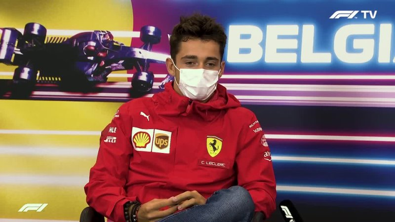 Press conference Belgian GP F1 2021 Charles and Max