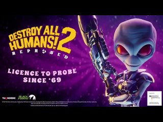 Слитый трейлер ремейка Destroy All Humans 2!