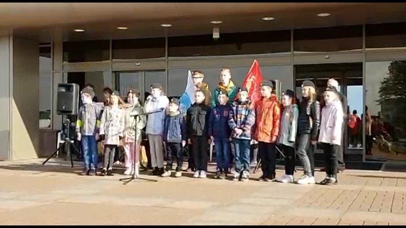 Видео от Новости ГБОУ школы №421 п Стрельна