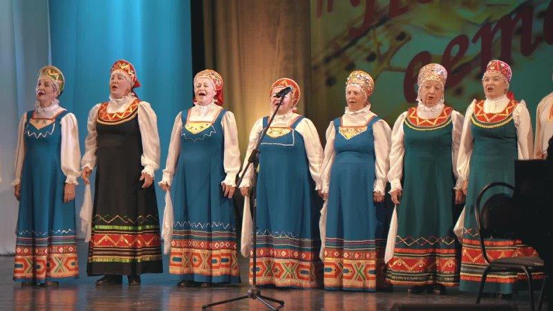 XII Городской фестиваль конкурс Поют ветераны 2021