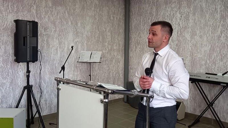 Пасхальное служение 2.05.21. Погибающие и спасаемые - пастор Владислав Баяндин