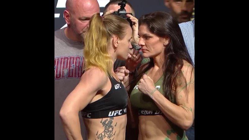 Валентина Шевченко vs Лорен Мёрфи Битва взглядов перед UFC 266