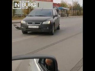 На улице Готвальда столкнулись две иномарки