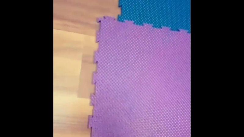 Видео от plast floor Модульная ПВХ плитка