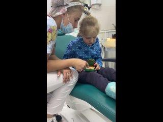 Хотите, чтобы у вашего ребёнка встречи со стоматологом проходили так же интересно и познавательно? 😃