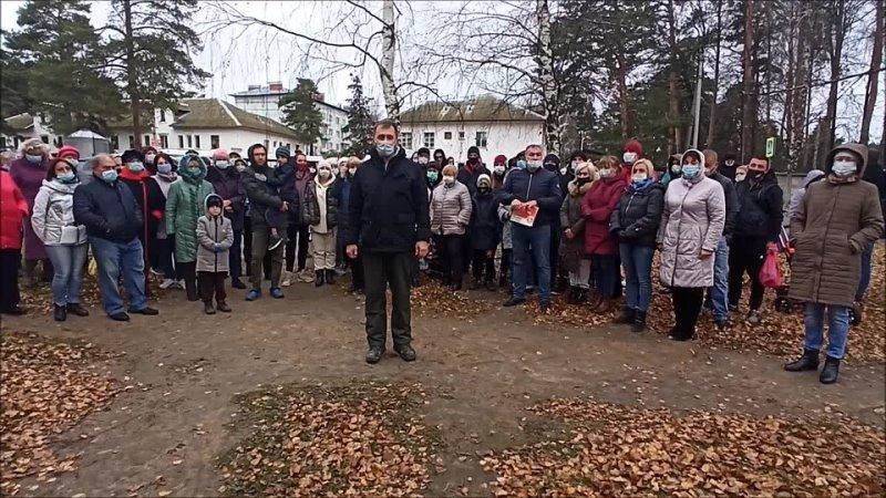 Жители поселка Сокол обратились к Путину по поводу кладбища mp4