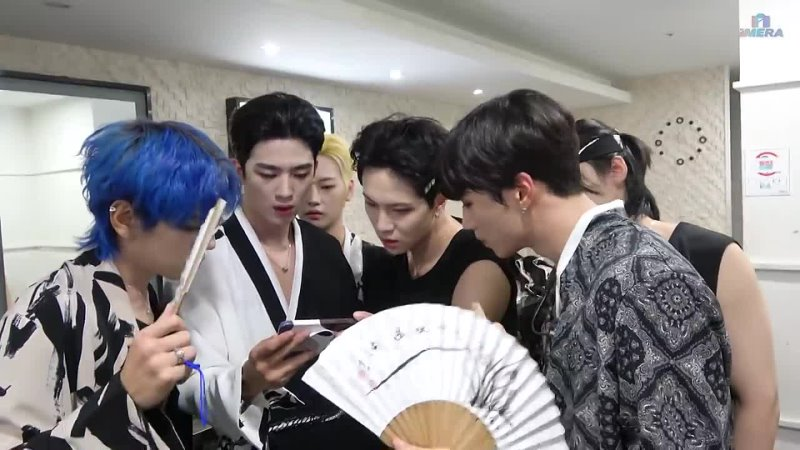 BACKSTAGE 210920 WEi @ IMERA Immortal Songs Behind Ep 78