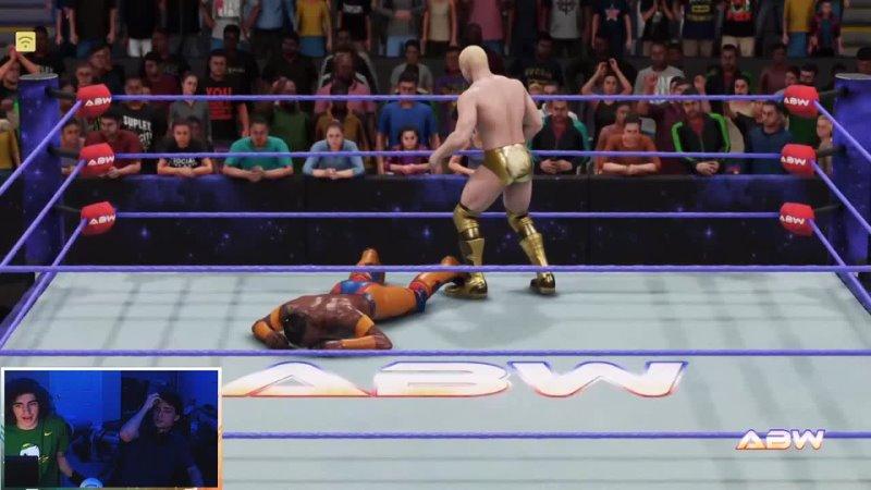 ABW Mayhem WEEK 42 WWE 2K19 CUSTOM UNIVERSE MODE CUSTOM THEMES ARENAS CHARACTERS SHOWS