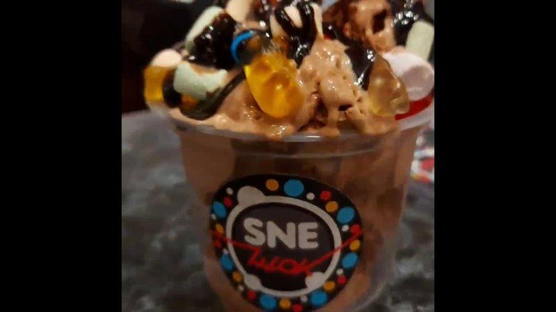 Мороженое на жидком азоте Sneшок