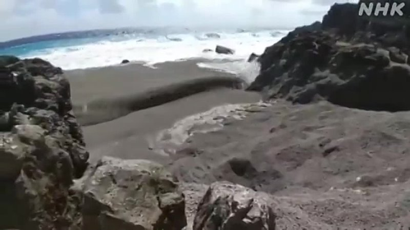 JAPÃO Uma grande quantidade de pedras pomes foi encontrada na costa da Ilha Kitadaito Prefeitura de Okinawa A Agência Me