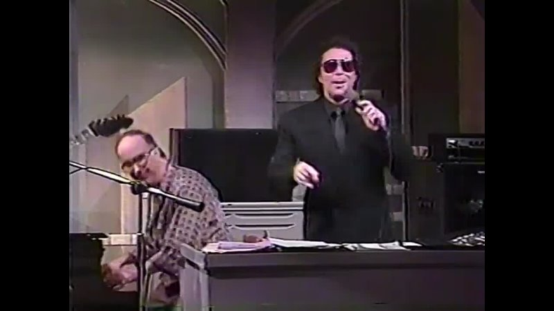 Tom Jones Supermarket Finds The Late Night with David Letterman 10 1987