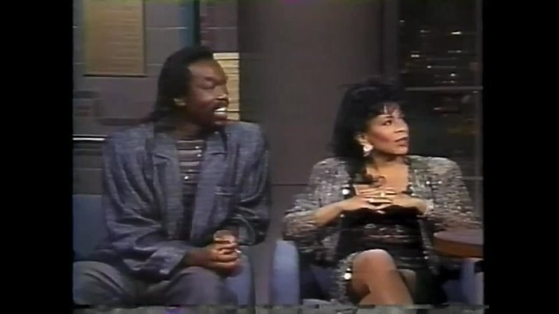 Ashford Simpson Count Your Blessings The Late Night with David Letterman 14 08 1986
