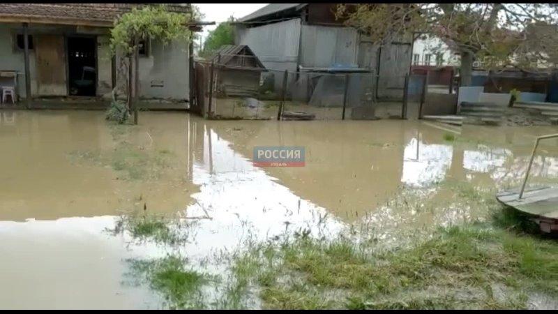 В Тимашевске за ночь выпала полуторамесячная норма осадков