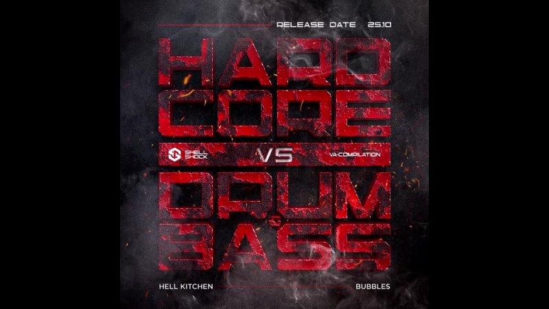 Hell Kitchen Bubbles Preview VA Hardcore VS Drum Bass LP
