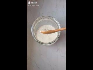 Сливочная намазка на хлеб