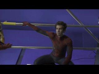 Слив съёмок Человек-Паук: Нет Пути Домой | Andrew Garfield
