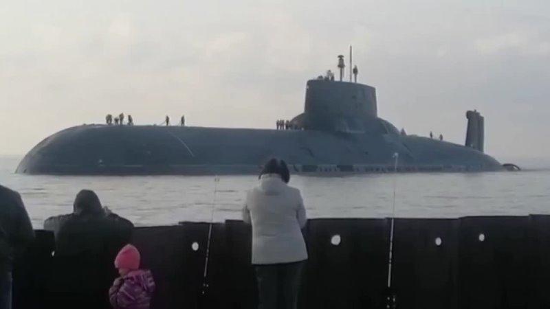 Северодвинск встречает морского гиганта