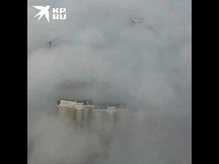 Сезон туманов в Краснодаре