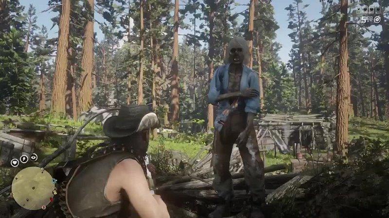 В Red Dead Online появился NPC зомби из за ошибки в системе