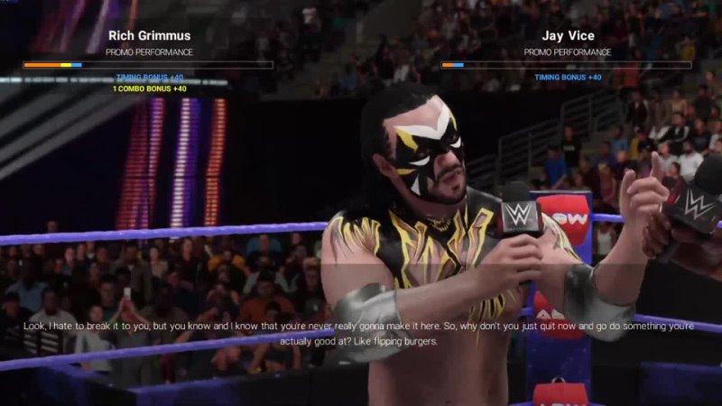 ABW Mayhem WEEK 44 WWE 2K19 CUSTOM UNIVERSE MODE CUSTOM THEMES ARENAS CHARACTERS SHOWS