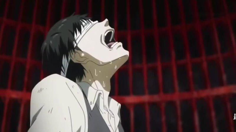 Anime Moment Канеки против Джейсона Токийский Гуль
