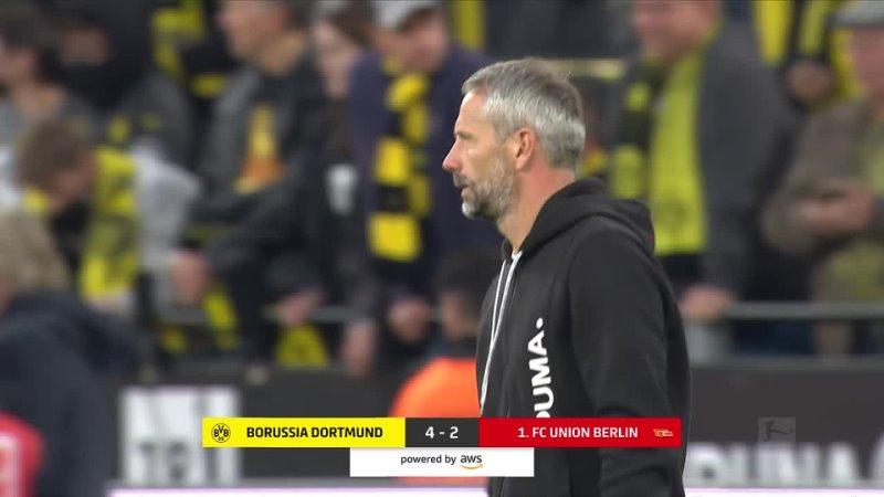 5 Spieltag Borussia Dortmund Union Berlin 4 2