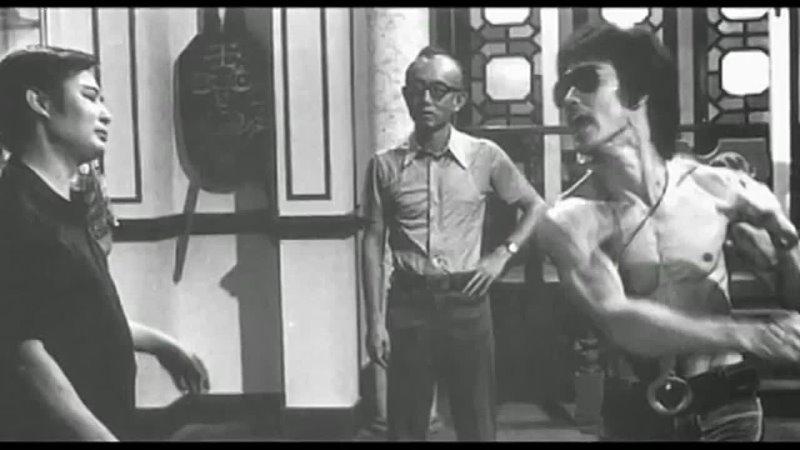 Февраль 1972 год Ву Нган Джоуи Чен Вонг Шун Брюс Ли и Рэймонд Чоу для проекта Игра смерти