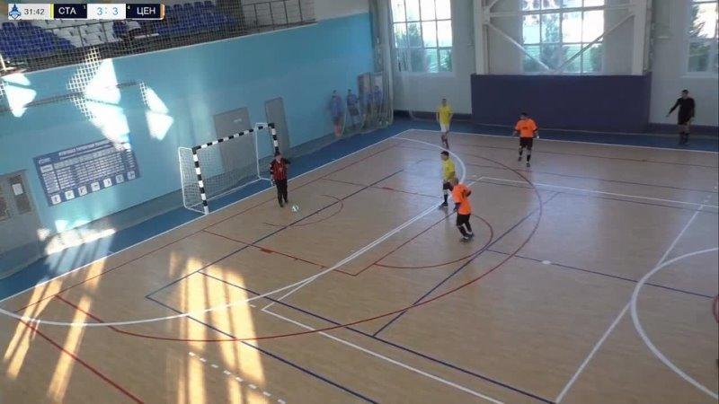 Как Любарский забил гол Сталкер 2 Центр 3 дивизион БФЛ