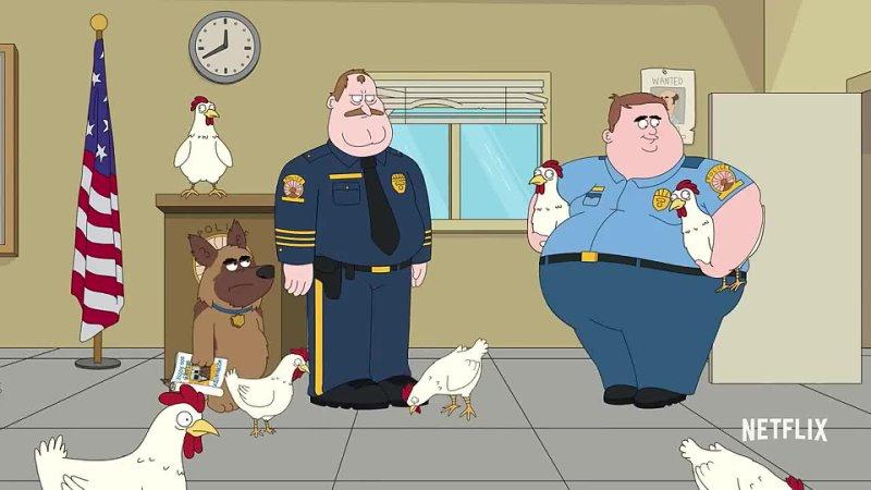 Полиция Парадайз трейлер 1 сезона в озвучке WV