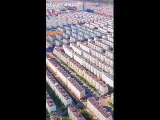 Новостройки в уезде Аньсинь 安新, Китай. А вы говори...