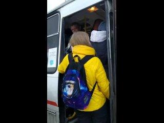 Плотная утрамбовка в автобусы.Ни о каких санитарны...