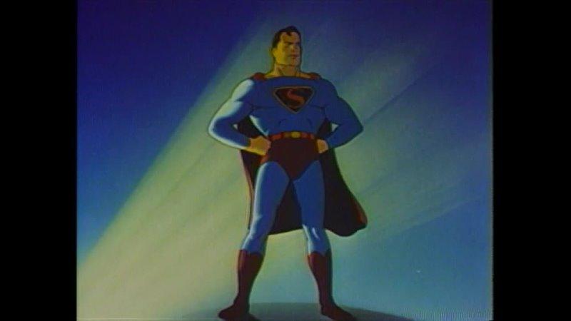 Супермен Superman 1941 1943 Серии 1 8 VHS
